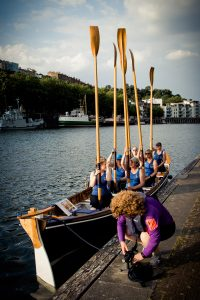 Elaine Greig and the Bristol Gig Club.