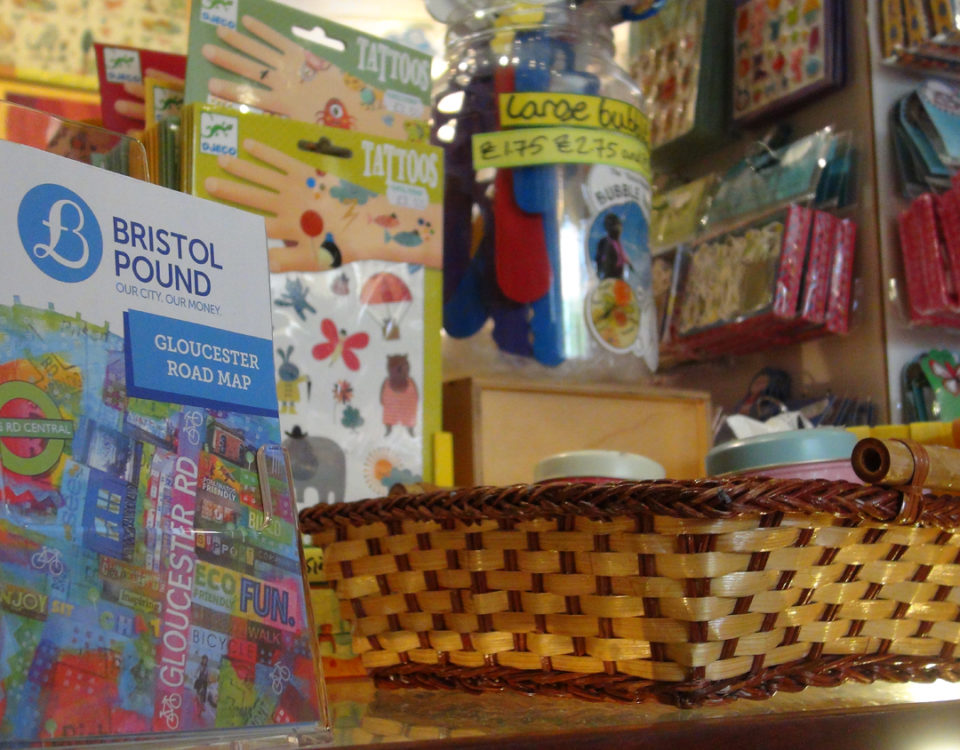 Map bristol pound spending bristol pounds on gloucester road just got easier with a new map reheart Image collections