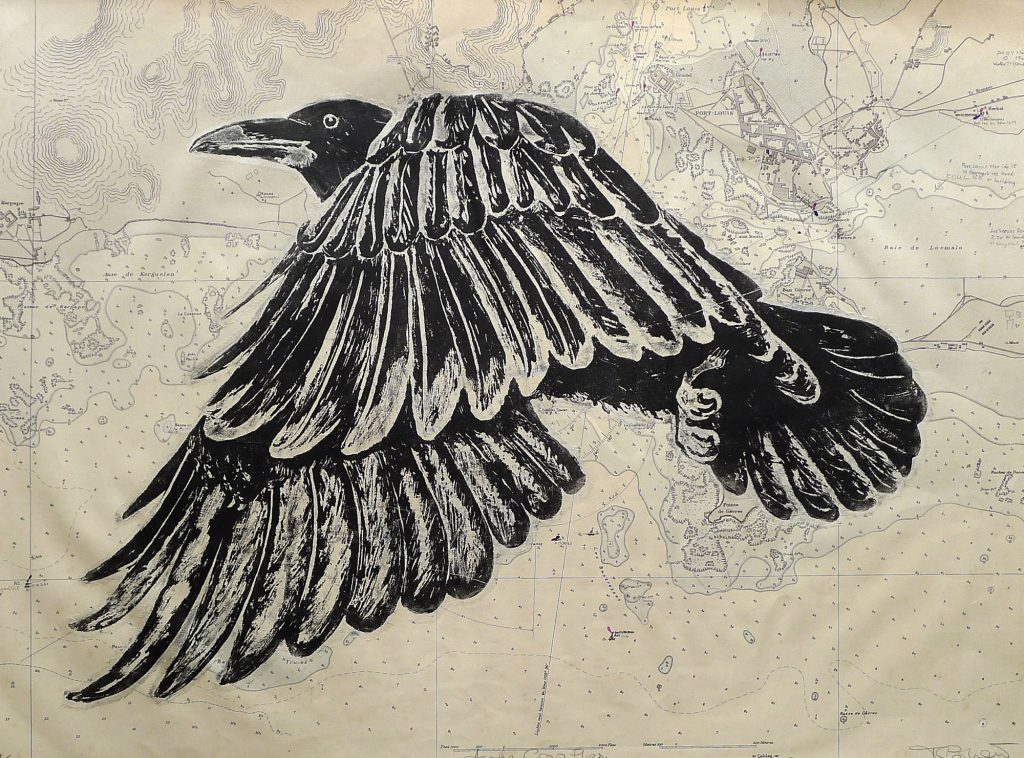 """As the crow flies"" by Mary Collett"